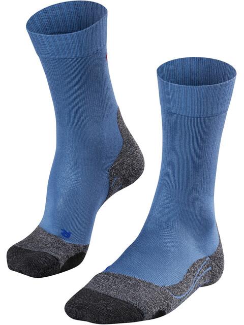 Falke TK2 Cool Calze Uomo grigio/blu